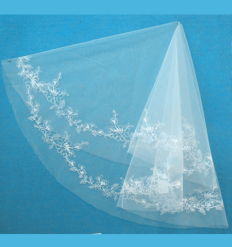 Eco-friendly wholesale wedding bridal veils for brides