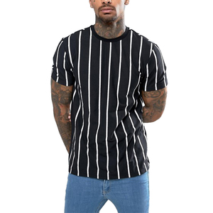 bangladesh wholesale clothing short sleeve vertical striped men t shirt