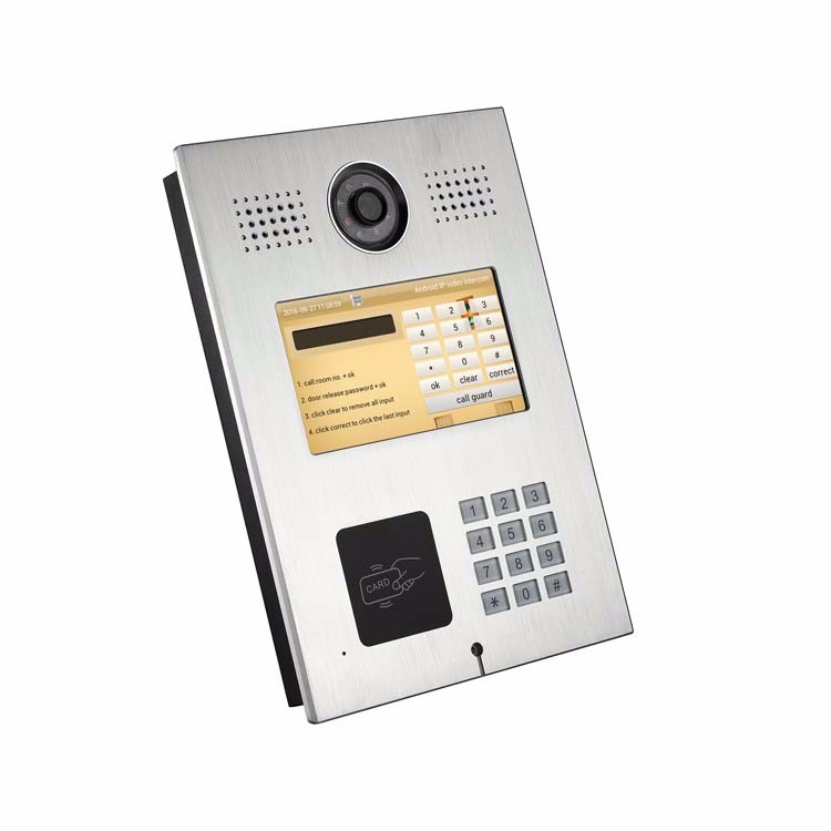 Gemvary Multi Apartment Video Intercom Systems For Apartments ...