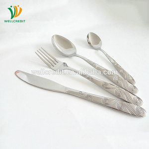New launched good reputation cheap luxury german flatware