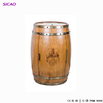 Innovative Peltier Cooler Wine Barrel Standswooden Whiskey Barrel