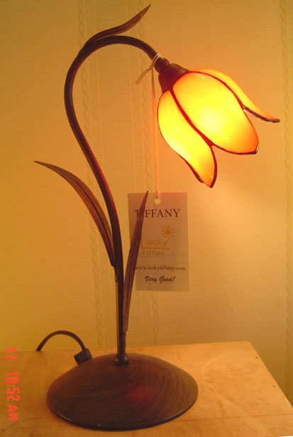 Tulip tiffany table lamp buy table lamp product on alibaba aloadofball Image collections