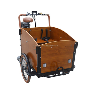 Urban Carrying Wehicles 250W Battery Electric Cargo Reverse Trike