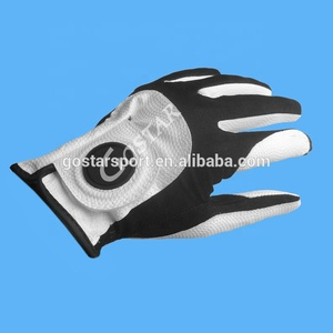 White PU Synthetic Leather Free Size Golf Glove