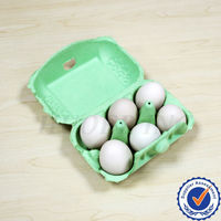 Green Blank Egg Cartons
