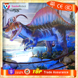 SH-RD348 Indoor and Outdoor Playground Animatronic Dinosaur Spinosaurus