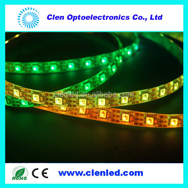 2014 Addressable LED Strip,ws2812 dream color,16 ws2812b for Lighting Project