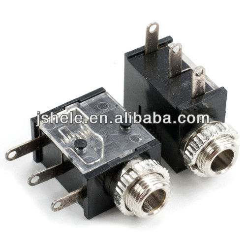 2.5mm Stereo Insulated Jack Socket