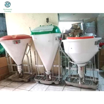 New Designed Customized Plastic Auto Feeder for Pigs Fattening