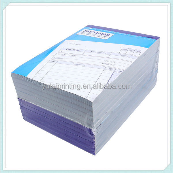 Bill Format StationeryChina Supply Spanish Carbonless Invoice – Sale Invoice Format