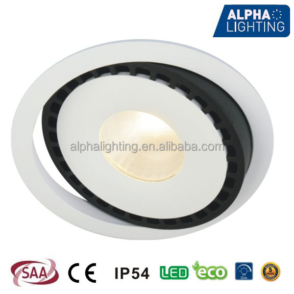 26w Good Quality High Cri Led Lights Drop Ceiling Recessed