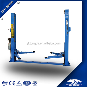 hydraulic lifter machine for car service station/used 2 post lift for sale/car lift platform