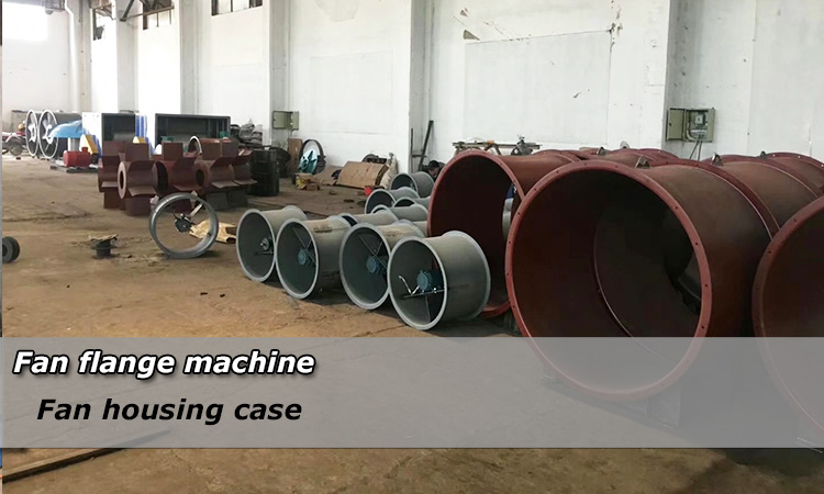 Axial Fan Flanging Folding Machine for Housing Flange