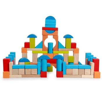 children toys new 2016 style wooden bricks building blocks toys 100pcs,  View geometry style of building blocks toys, ELC Product Details from