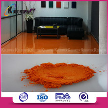 Metallic effect paint floor pigment, coloring floor coating pigment