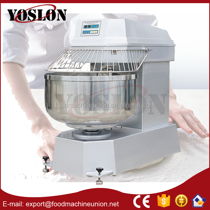 Commericial spiral dough mixer two speed , automatic dough mixer