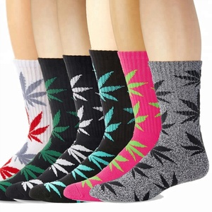 Three Packed Casual Dress Weed socks