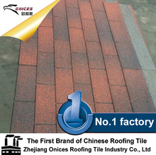 Brand new fiberglass asphalt roofing shingles with high quality