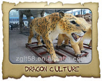 2013 Jungle theme decoration model animatronic animal leopard