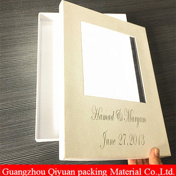 Custom Handmade White Cardboard Gift Packaging A4 Size Paper Box With Window Buy A4 Size Paper Box Paper Box With Window White Cardboard Gift Box
