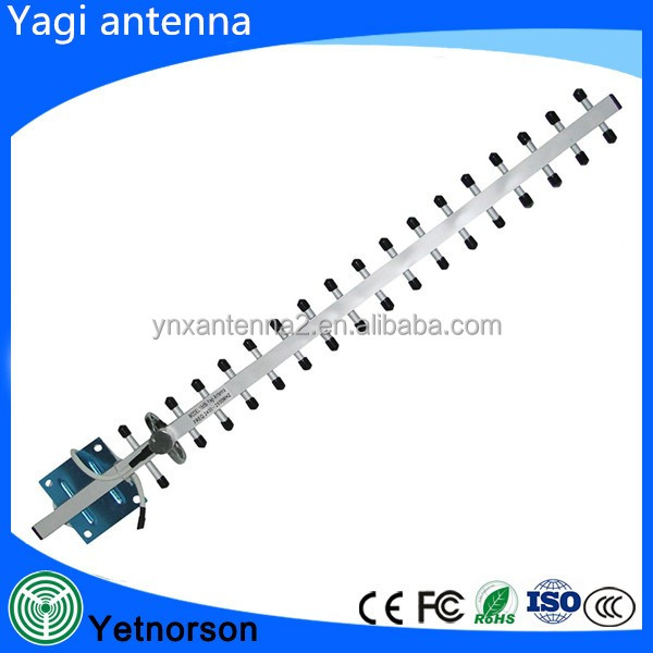1700MHz-2100MHz AWS WCDMA 3G Directional External Outdoor Yagi Antenna for Mobile cell phone signal Booster
