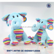 Cute Plush Colorful Elephant Plush Toy