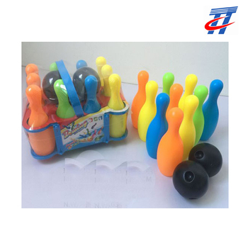 wholesale plastic bowling ball set for kids