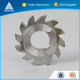 Saw blade face milling solid carbide glass or gear cutting tools with cheap price