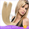 high quality grade 8a remy hair 613# indian straight hair piece for Europe belle