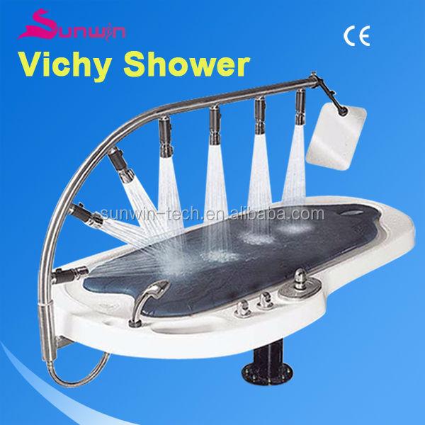 Sw-707s High Pressure Water Jet Massage Bed /vichy Shower Mixer ...