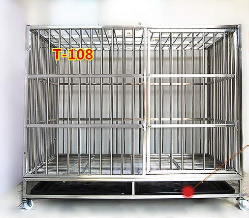 stainless steel dog cage/chain link wire dog kennel /dog cage/welded wire dog kennel/welded wire dog cage (dog cage-015)