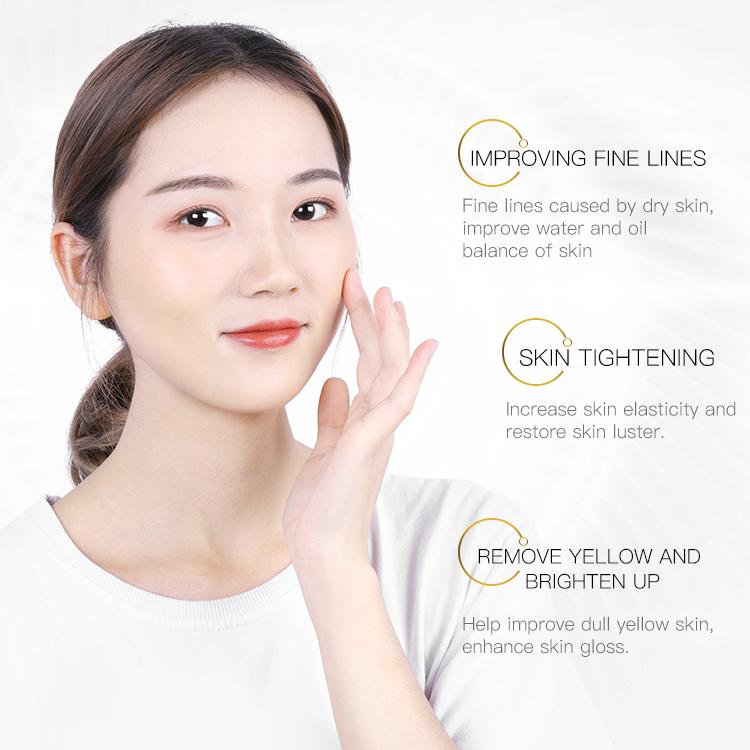ODM OEM Bioaqua Moisturizing Essence Skin anti-aging 24k gold skin lightening serum