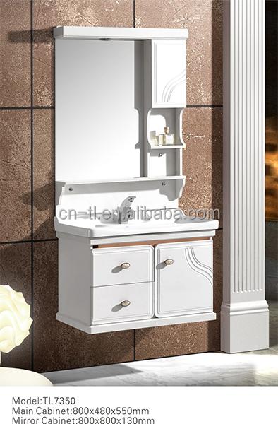 moderne pvc armoire de toilette ensemble de salle de bains - Ensemble Vanite Armoire