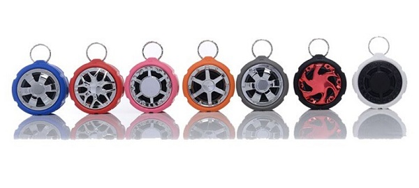 new waterproof Wireless Mini Bluetooth Speaker tyre shape