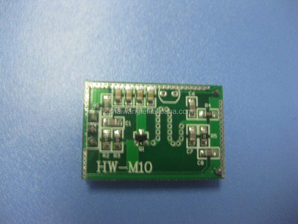 Hw M10 Microwave Motion Sensor Pcb Module For Light Switch