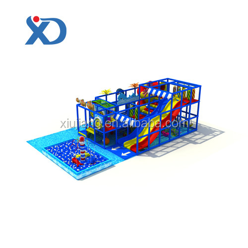 kindergarten kids used outdoor soft play ground equipment for sale