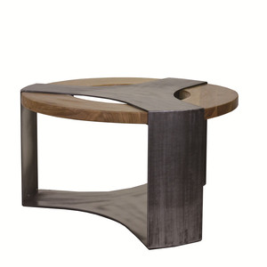 Natural eucalyptus wood veneer coffee table price