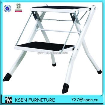 Wondrous Step Stool Chair With Footrest Kc 7020 Buy Step Stool Chair Folding Chair Ironing Board Wide Step Ladder Product On Alibaba Com Uwap Interior Chair Design Uwaporg
