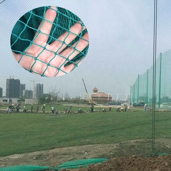 Plastic mesh seine for golf courses, sports grounds, stadiums