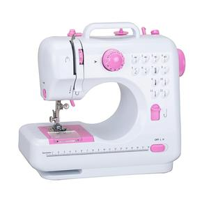 7.2w 12 stitches Mini Sewing Machine with button hole sewing FHSM-505 guangzhou factory price
