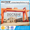 Mg Model Heavy Duty 25T Double Girder Gantry Crane Manufacturer With Hoists