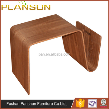 Contemporary Design Living Room Furniture Walnut Plywood Scando - Scando coffee table