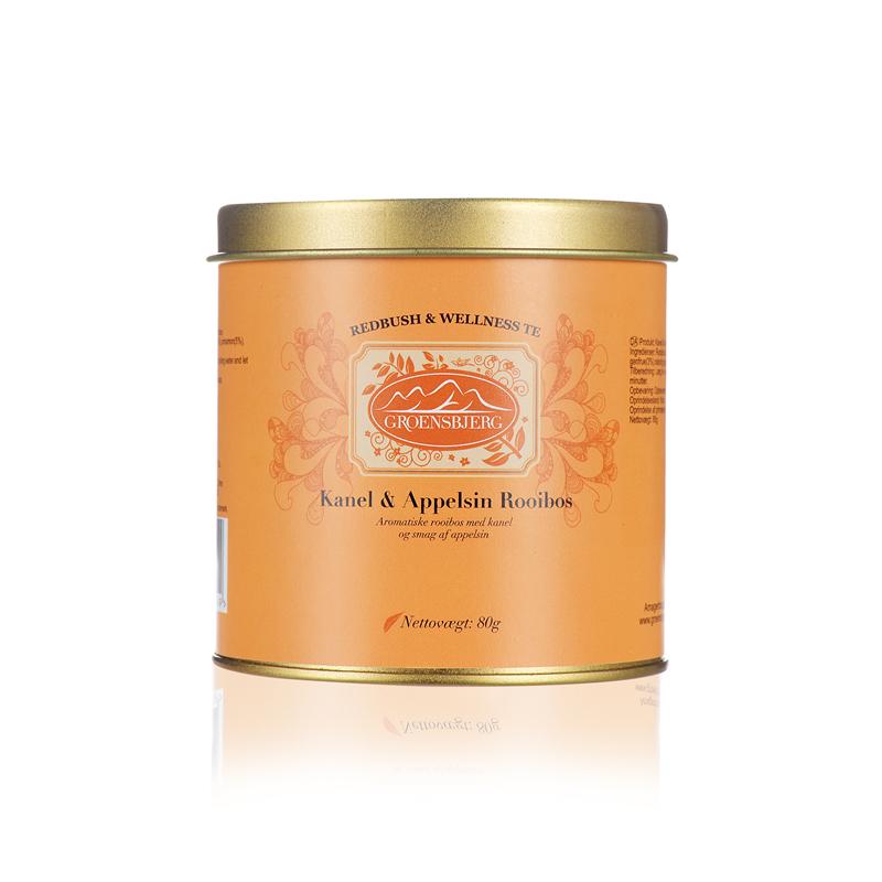 Factory Wholesale Tea Aromatic Rooibos Cinnamon Scents Orange natural flower fruit tea leaves loose canister - 4uTea   4uTea.com
