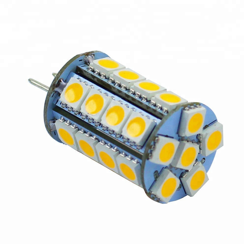 G4 JC10 30SMD 5050 regulable g4 24 V bombillas led