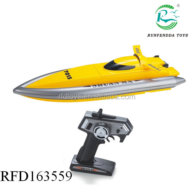 2.4G rc high speed boat 7013 rc racing boat for sale Double horse with CE FCC ASTM ROHS