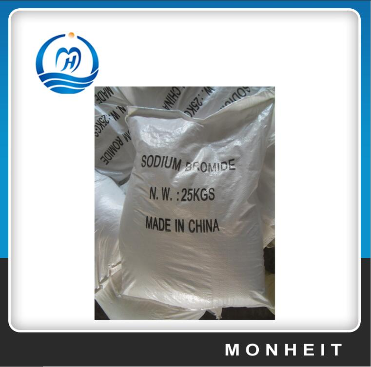 White Crystalline Powder 99% Pharmaceutical Sodium Bromide NaBr