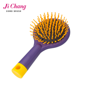 Colorful Plastic Folding Mirror Pocket Mirror hair brush comb