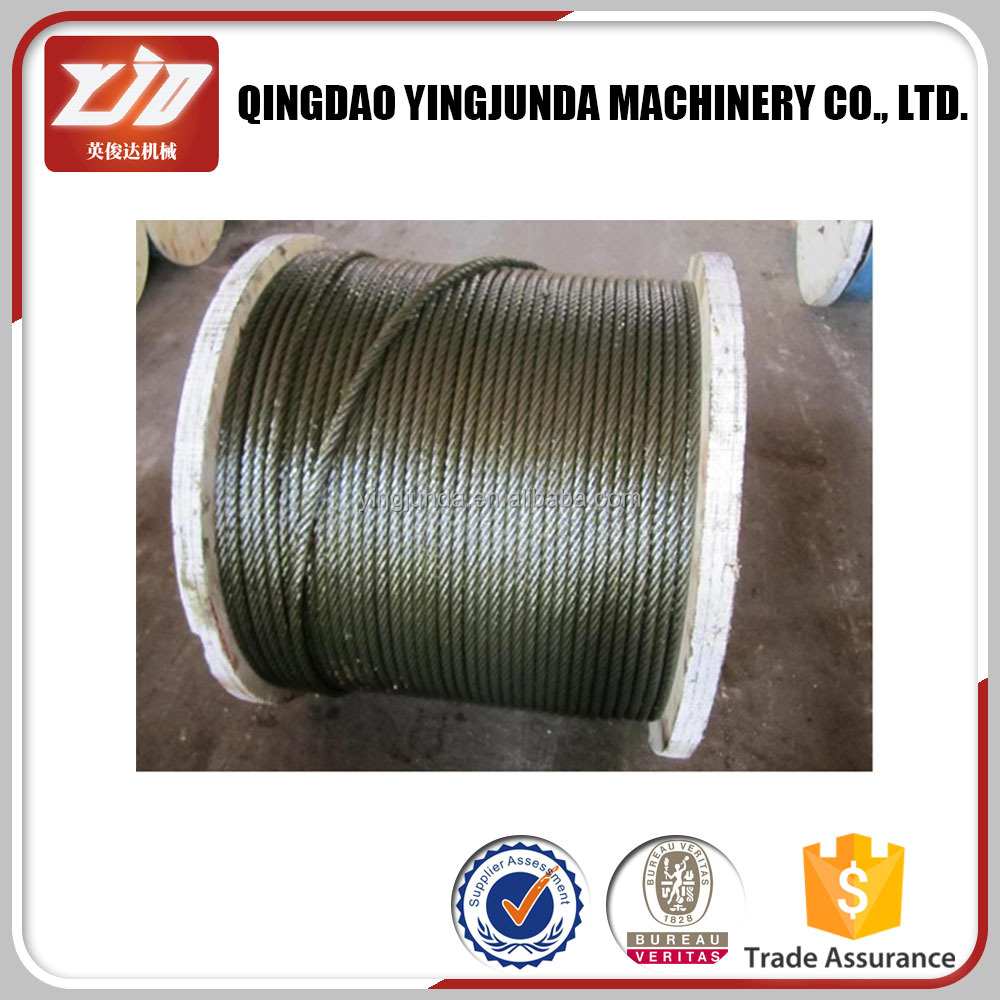 Winch Rope And Pvc Zinc Coated Galvanized Steel Wire Rope Strand ...
