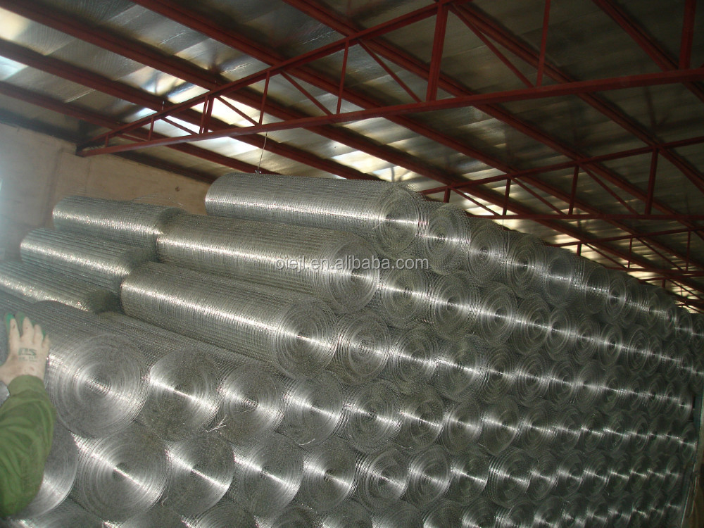High Quality Low-carbon Steel Wire Welded Wire Mesh / Square Hole ...
