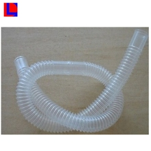 FDA certificated custom size silicone rubber medical corrugated tube